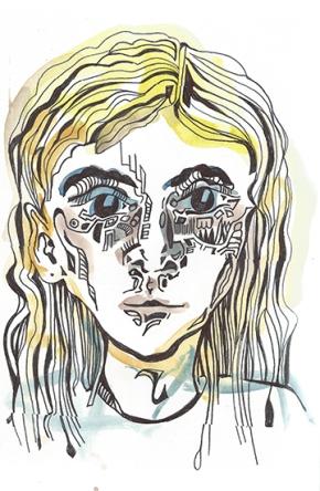 No. 4 - Watercolor & Ink