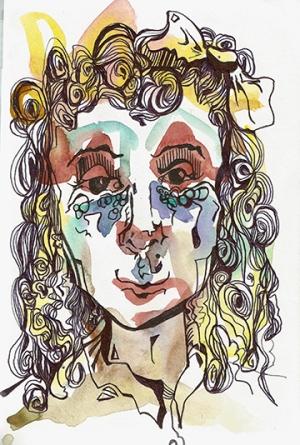 No. 1 - Watercolor & Ink