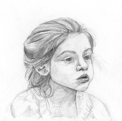 Martha - Pencil