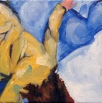 Fall ii, Oil on Canvas, 8x8, 2013