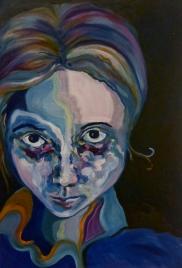 Stare, Oil on Canvas, 26 x34, 2013