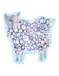 Sheep - Set 1, Collage, 2015