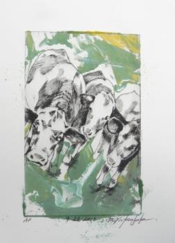 Drypoint Monoprint, 2015