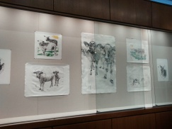 A Small Pasture, Sunken Gallery, Wallace Center, RIT Library, 2015